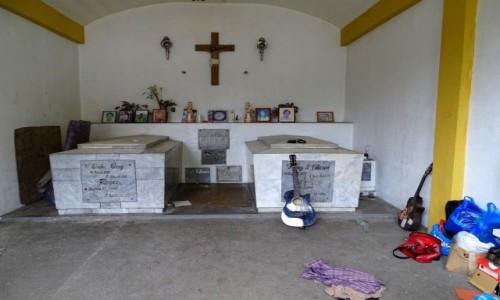 FILIPINY / Manila / Cmentarz Północny / To też jest dom