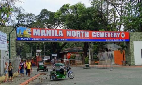 FILIPINY / Manila / Cmentarz Północny / Brama do innego świata