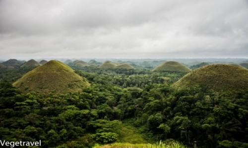 Zdjecie FILIPINY / Bohol / Chocolate hills / Czekoladowe wzgórza