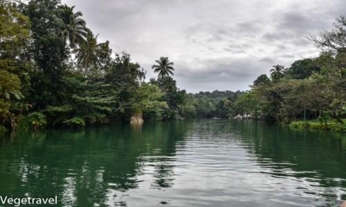 Zdjecie FILIPINY / Bohol / Lomboc / Rzeka Lomboc