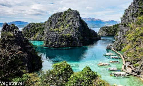 Zdjecie FILIPINY / Palawan/ Coron / Kayangan Lake / Kayangan Lake