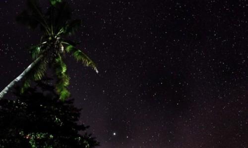 Zdjecie FILIPINY / Bantayan / Maricaban / nocne niebo