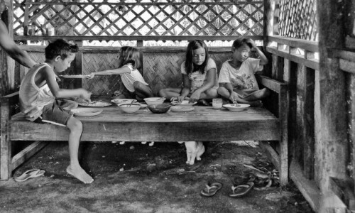 Zdjecie FILIPINY / Palawam / Turda / Merienda