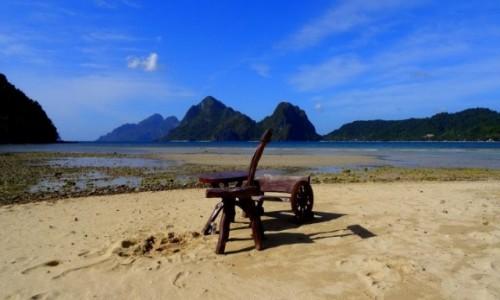 Zdjecie FILIPINY / Palawan / El Nido - Las Cabanas / Ostatni wolny stolik