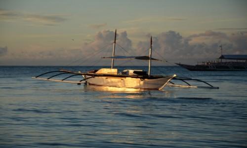Zdjecie FILIPINY / bohol / alona beach / poranek