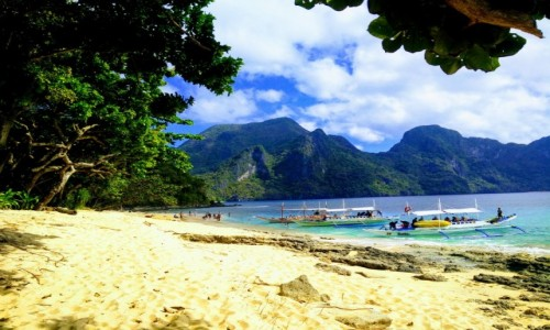 Zdjecie FILIPINY / Palawan / El Nido / Helicopter Island