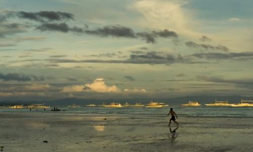 Zdjecie FILIPINY / Visayas / Panglao / zachód