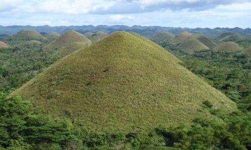 Zdjecie FILIPINY / brak / Wyspa Bohol - Czekoladowe Wzgórza / Czekoladowe Wzg