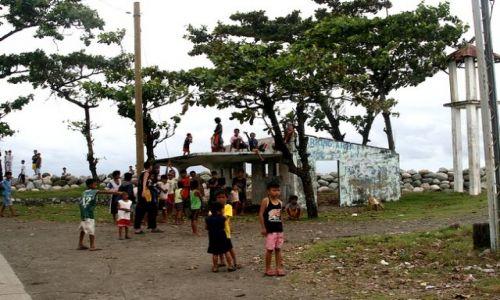 FILIPINY / brak / Luzon/Agoo / Wioska San Julian