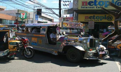 FILIPINY / brak / LUZON / Wspania�e jeepneje zamiast autobus�w