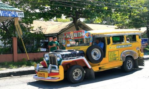 FILIPINY / brak / LUZON / Kolejny wspania�y jeepney