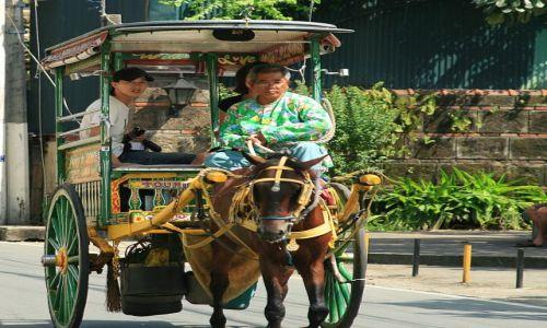 FILIPINY / Luzon / Manila / W starej dzielnicy hiszpańskiej Intramuros