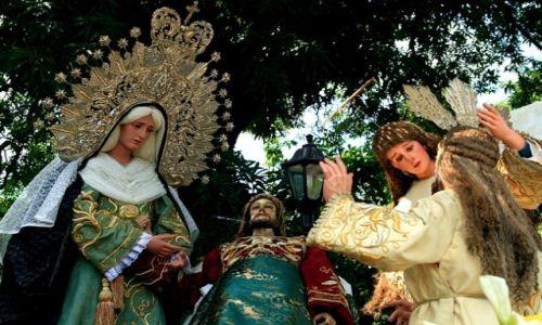 FILIPINY / Luzon / Manila / Festiwal Maryjny w Intramuros__