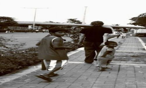 FILIPINY / brak / Manila - przy lotnisku  / Masz drobniaki?