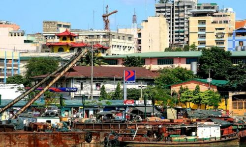 FILIPINY / brak / Manila / Manilski misz-masz