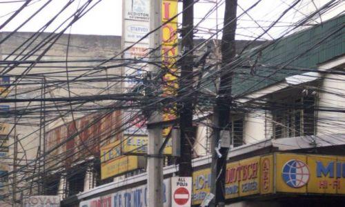 Zdjecie FILIPINY / manila / manila / manila linie energetyczne