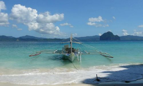 Zdjęcie FILIPINY / El Nido / Miniloc / samotna banka