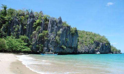 Zdjecie FILIPINY / Palawan / Sabang / Plaża