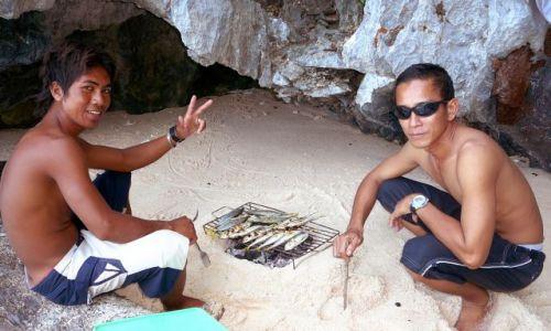 Zdjecie FILIPINY / Palawan / El Nido / rybka na obiad