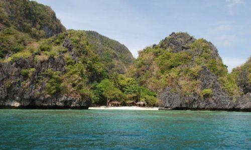 Zdjecie FILIPINY / Palawan / El Nido - Archipelag Bacuit / Plaża