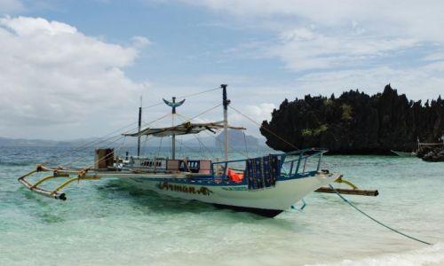 Zdjecie FILIPINY / Palawan / El Nido - Archipelag Bacuit / Bangka
