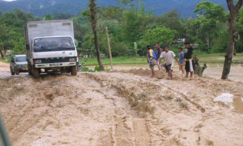 Zdjecie FILIPINY / Palawan / jeszcze dalej / droga