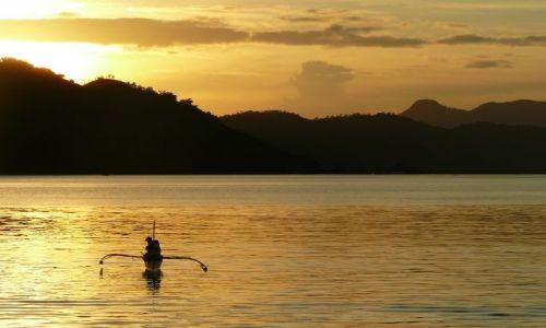 Zdjęcie FILIPINY / Coron / Coron / o zachodzie slonca