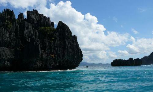 Zdjęcie FILIPINY / Palawan / El Nido / Zaczarowana skała