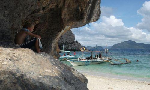 FILIPINY / Palawan / Simisu Island / ... chwila na ....
