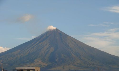 Zdjecie FILIPINY / Azja / Legazpi / aktywny wulkan