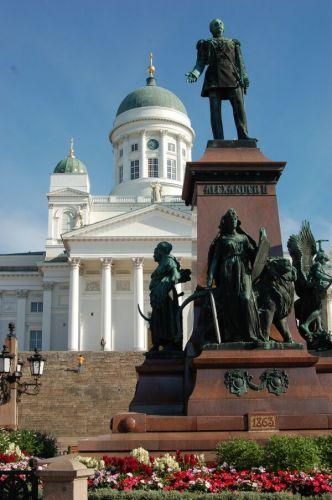 Zdjęcia: Helsinki - Plac Senacki cz.2, Chwila w Helsinkach, FINLANDIA
