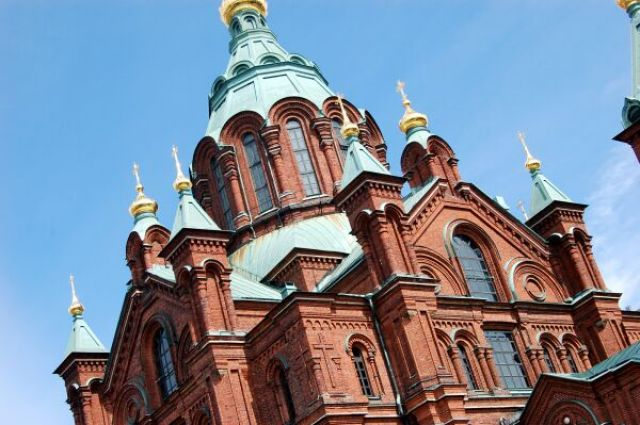 Zdjęcia: Helsinki - Katedra Uspiejska, Chwila w Helsinkach, FINLANDIA