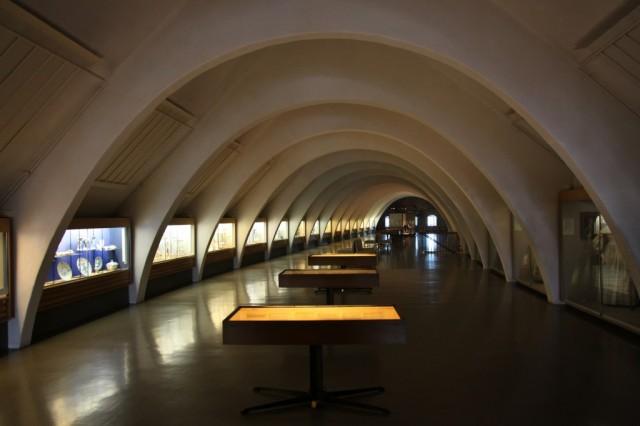 Zdjęcia: Turku, Varsinais-Suomi, Zamek w Turku - sala wystawowa, FINLANDIA