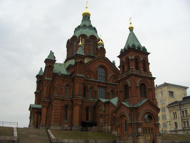 Zdjęcia: Helsinki, Cerkiew, FINLANDIA