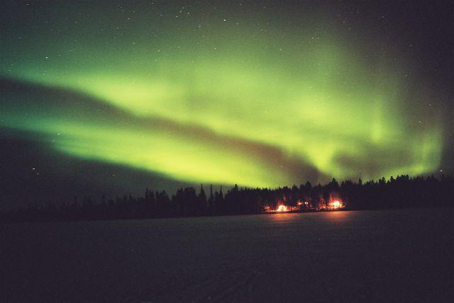 Zdjęcia: SRODKOWY LAPLAND, SRODKOWY LAPLAND, ZORZA POLARNA, FINLANDIA