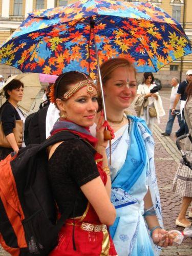 Zdjęcia: helsinki, hare kriszna women , FINLANDIA