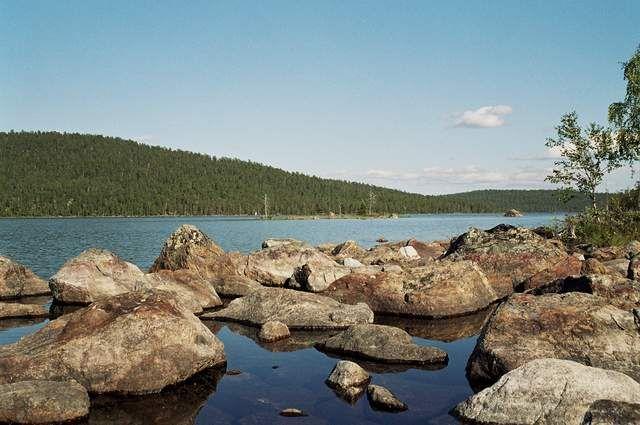 Zdjęcia: okolice Ivalo, Krajobraz Finlandii, FINLANDIA