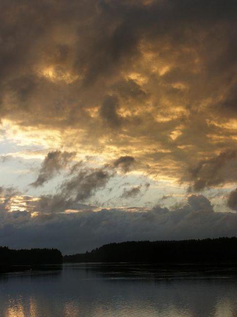Zdjęcia: Pojezierze Fińskie, Po burzy..., FINLANDIA