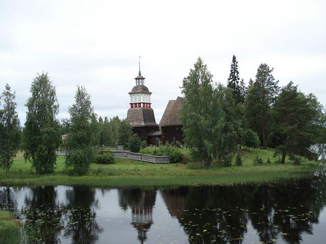 Zdjęcia: Petajavesi, Jyvaskyla, Centralna Finlandia, Kościół w Petajavesi (1), FINLANDIA