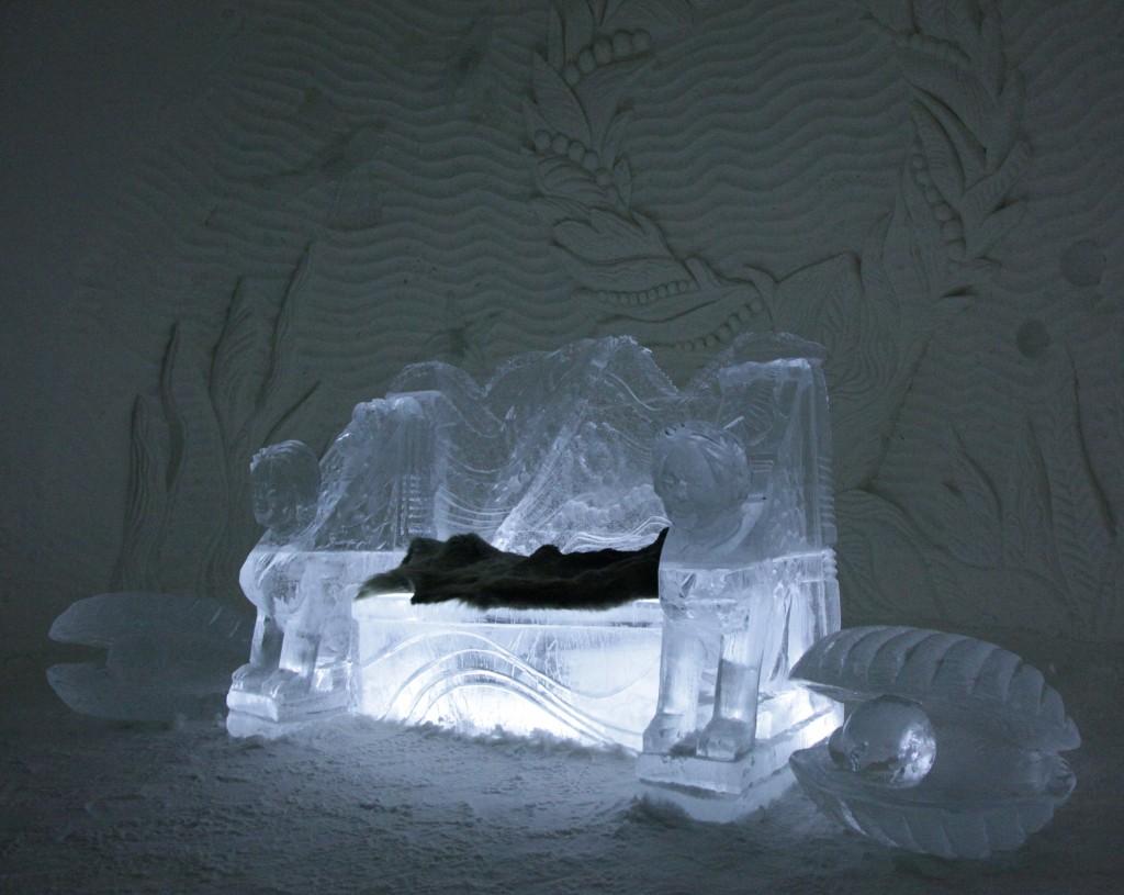 Zdjęcia: Kemi, Laponia, Kryształowy fotel, FINLANDIA