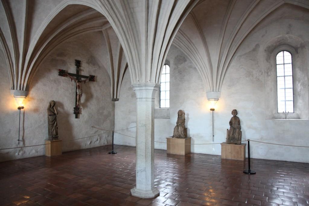 Zdjęcia: Turku, Varsinais-Suomi, Zamek w Turku - kaplica, FINLANDIA