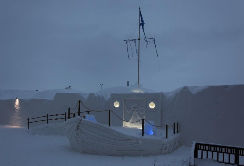 Zdjęcia: Kemi, Laponia, Morskie opowieści, FINLANDIA