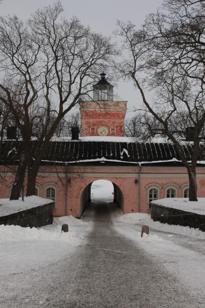 Zdjęcia: Twierdza Suomenlinna, Helsinki, Brama, FINLANDIA
