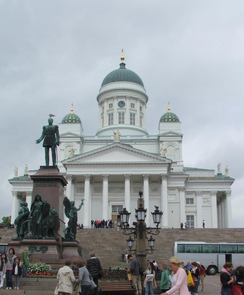 Zdjęcia: Helsinki, Plac Senacki, Fińskie reminiscencje, FINLANDIA