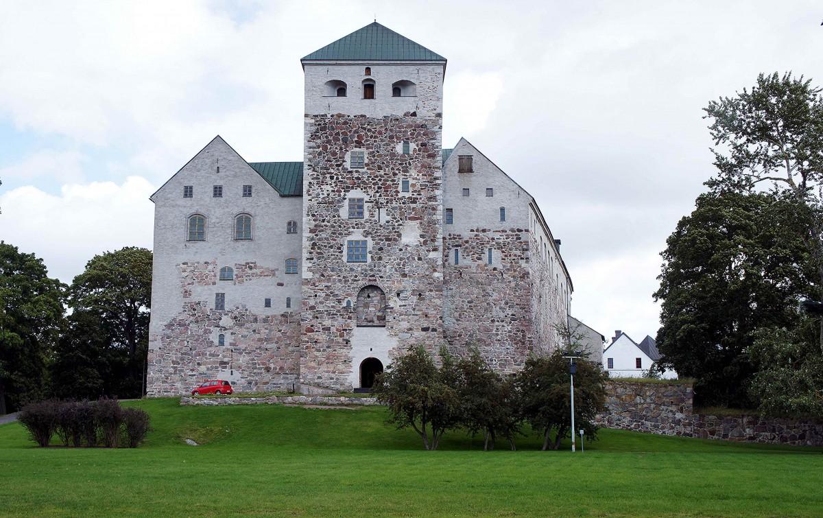Zdjęcia: Turku ,  Varsinais-Suomi , Zamek, FINLANDIA