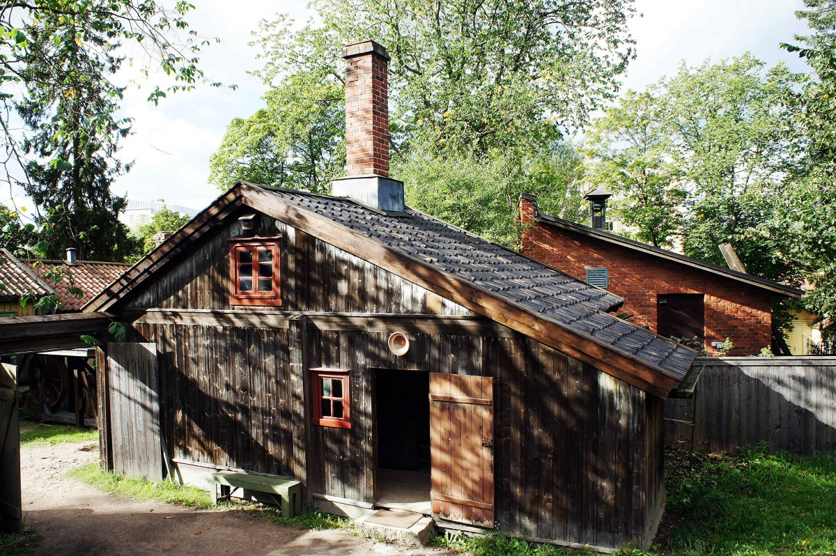 Zdjęcia: Skansenu Luostarinmaki, Turku, Domek rybaka, FINLANDIA