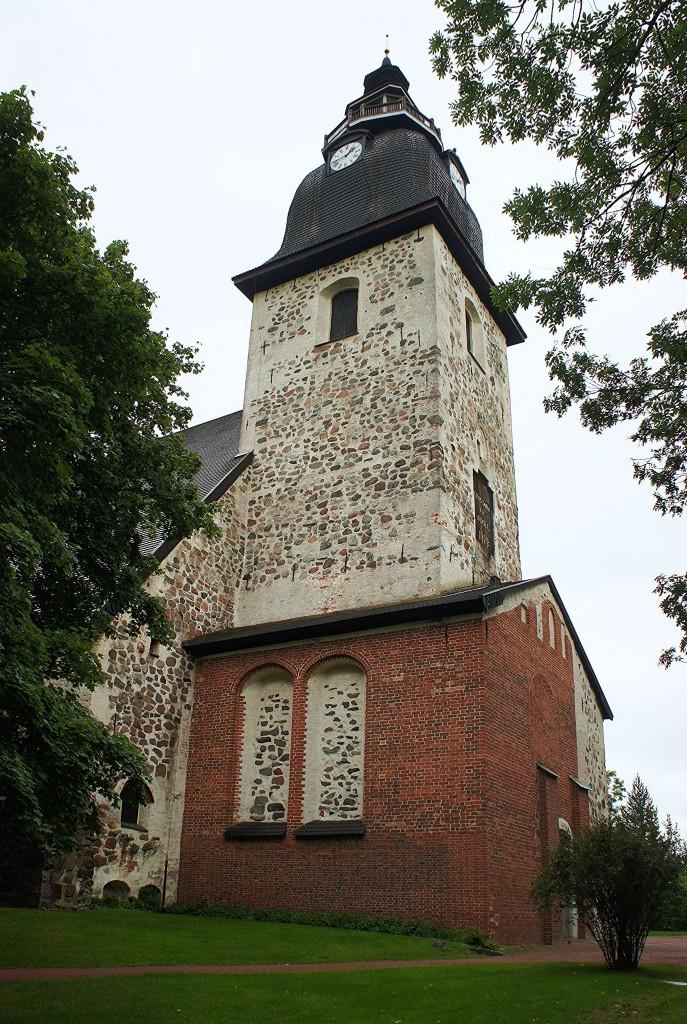 Zdjęcia: Naantali, Turku, Kościół z XV w., FINLANDIA
