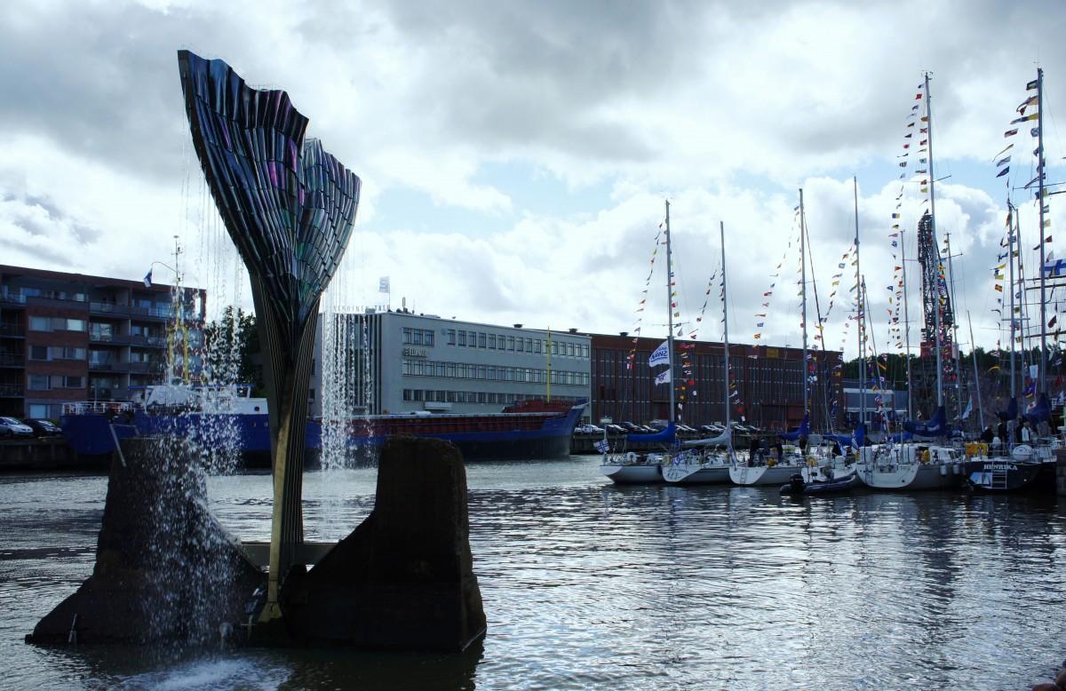 Zdjęcia: Port, Turku, Jachty, FINLANDIA