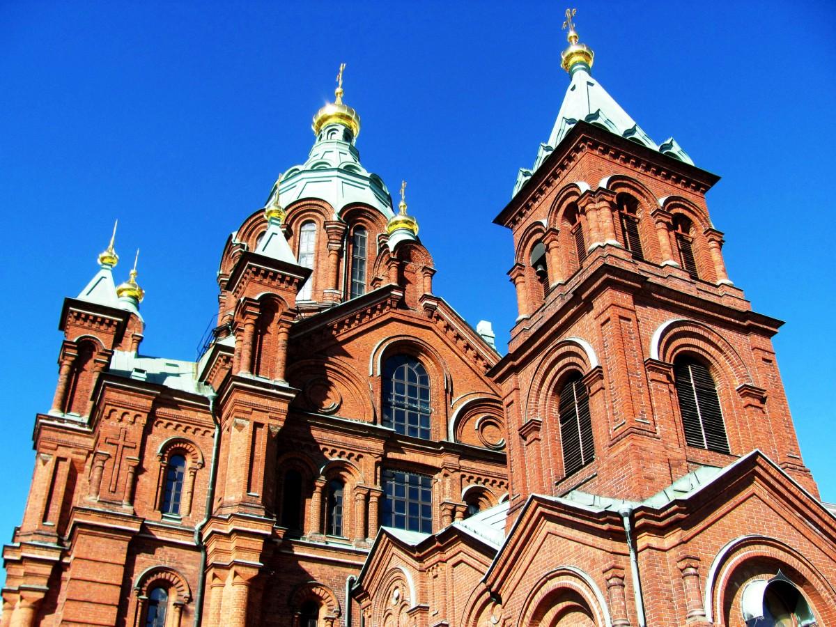 Zdjęcia: Helsinki, Helsinki, Sobór Uspieński, FINLANDIA