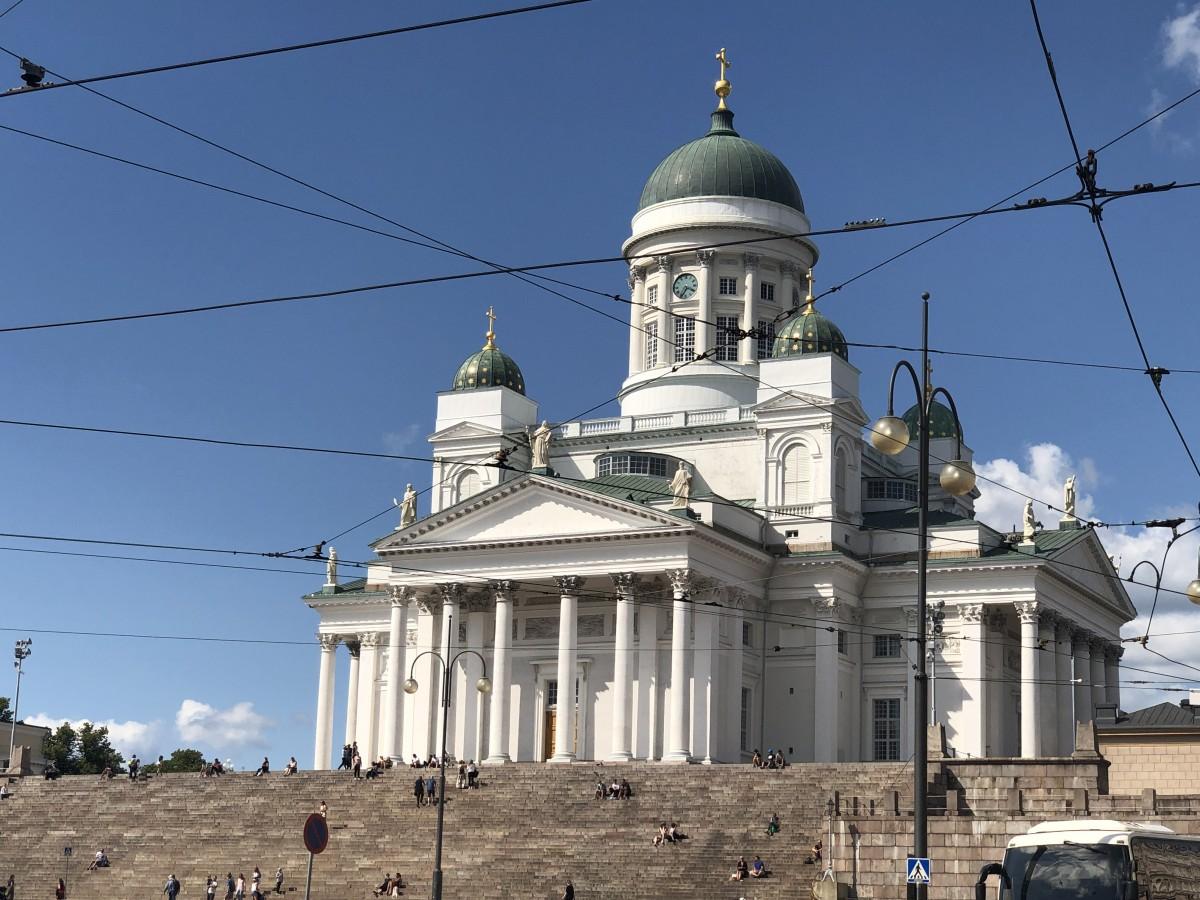 Zdjęcia: Helsinki, Helsinki, Katedra, FINLANDIA